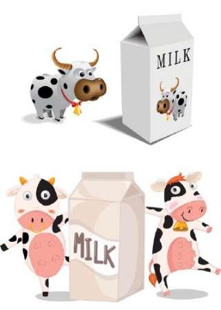 коровы и молоко (321x450, 13Kb)