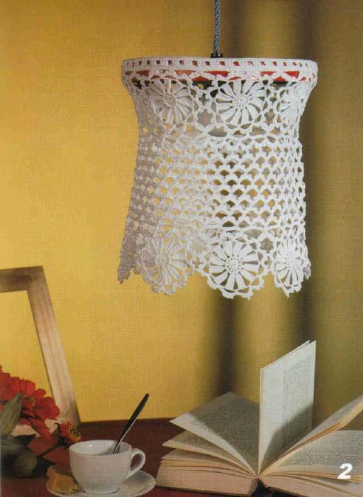 Kitning Crochet Lampshade Crochet Pattern