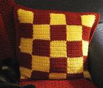 Вязание накидок на подушки 301