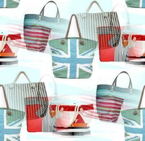 Трендовая пляжная сумка способна выдержать весь курортный...