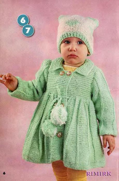 Вяжем детям. Спецвыпуск № 3 2011 Пальто, куртки, жакеты_6 (460x700, 58Kb)