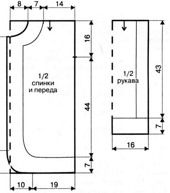 Azhurnyiy-zhaket-s-otdelkoy-iz-pushistoy-pryazhi.-Shema-vyazaniya-2 (584x662, 87Kb)