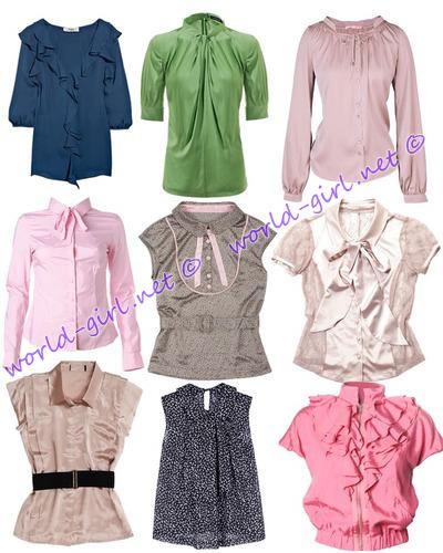 Модные Блузки Для Девочек