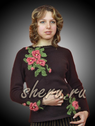 针织收集:编织花卉理念 - maomao - 我随心动