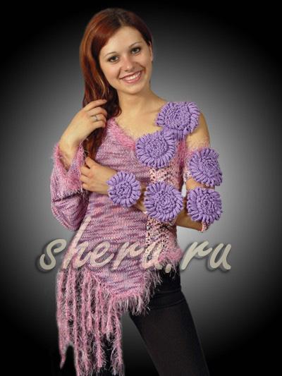 针织收集:编织花卉理念 2 - maomao - 我随心动