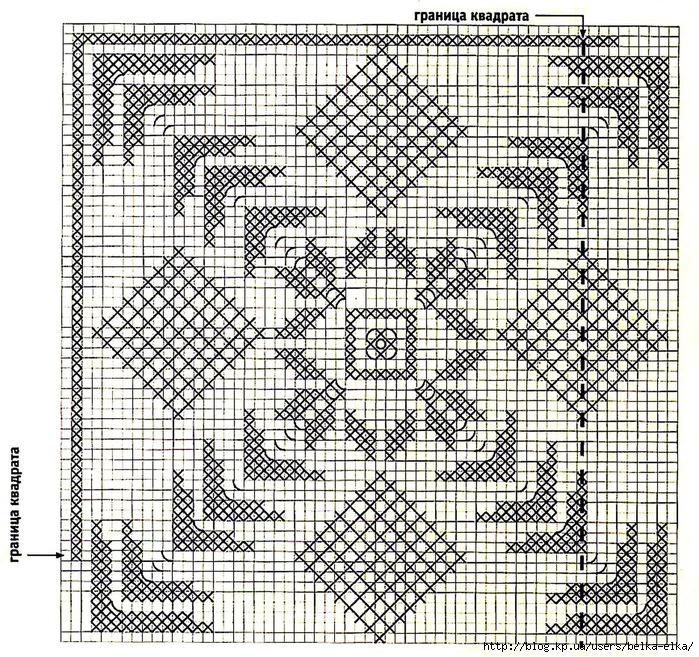 Филейное Вязание Схемы Модели