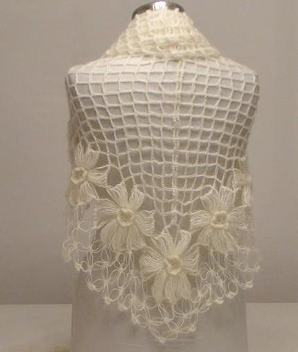 платок на вилке