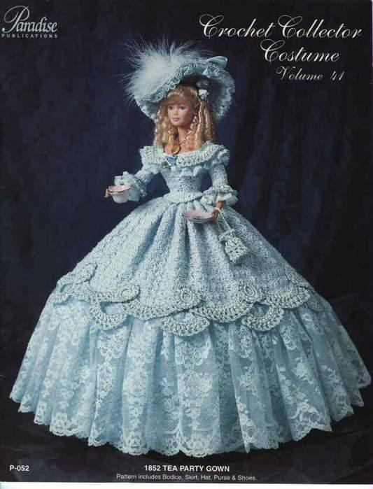 Шаблон платья на куклу