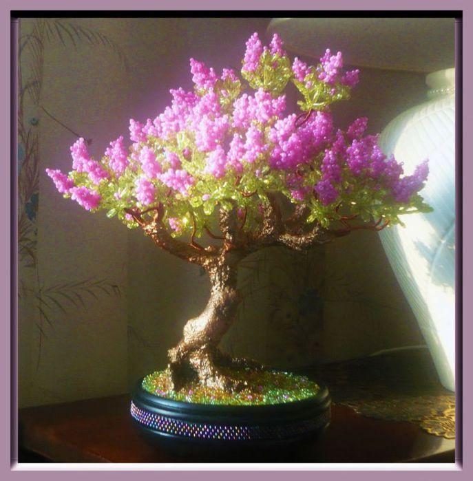 """На нашем женском сайте  """"Дамочка """" Вы в любой момент можете отыскать публикацию - красивые деревья из бисера, с..."""