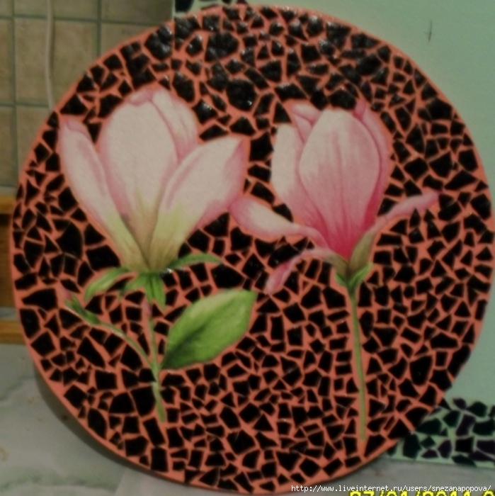 черно розовая со скорлупой (699x700, 325Kb)