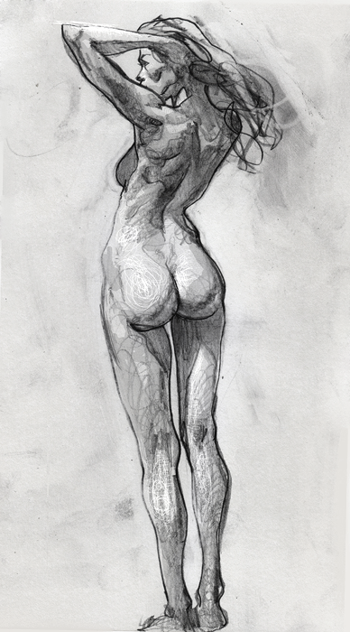 рисунки людей простым карандашом: