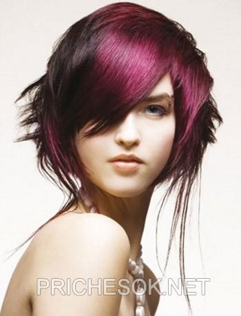 Причёски для волосы средней длины