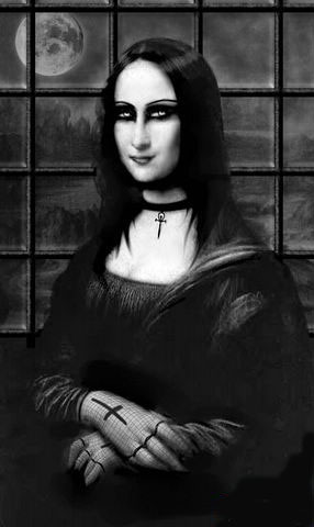 Джоконда.. Gothic version (286x480, 24Kb)