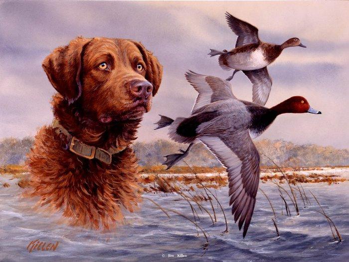 картинки для декупажа охота и рыбалка