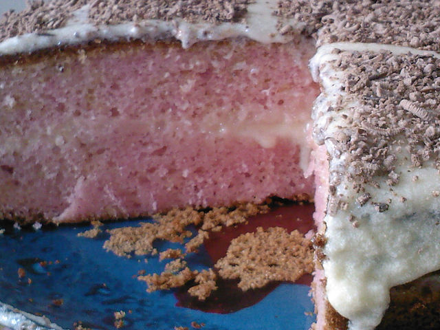 торт из киселя фото