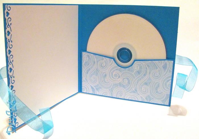 Красивый конверт для дисков своими руками