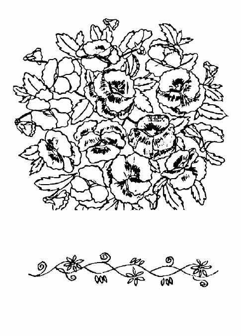 Схема для вышивки крестом из