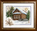 Превью ПС-333 «Зима в деревне» (400x331, 54Kb)