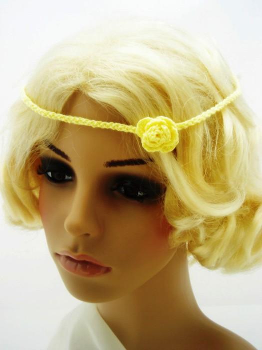 вязание ободка для головы