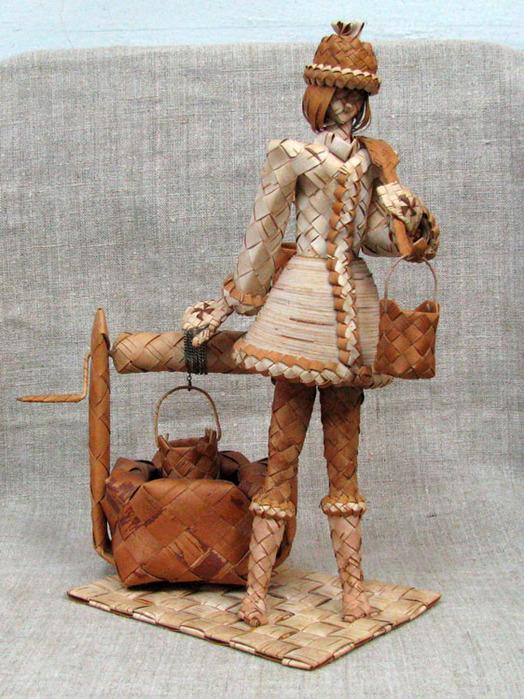 Девушка с ведром (524x700, 181Kb)
