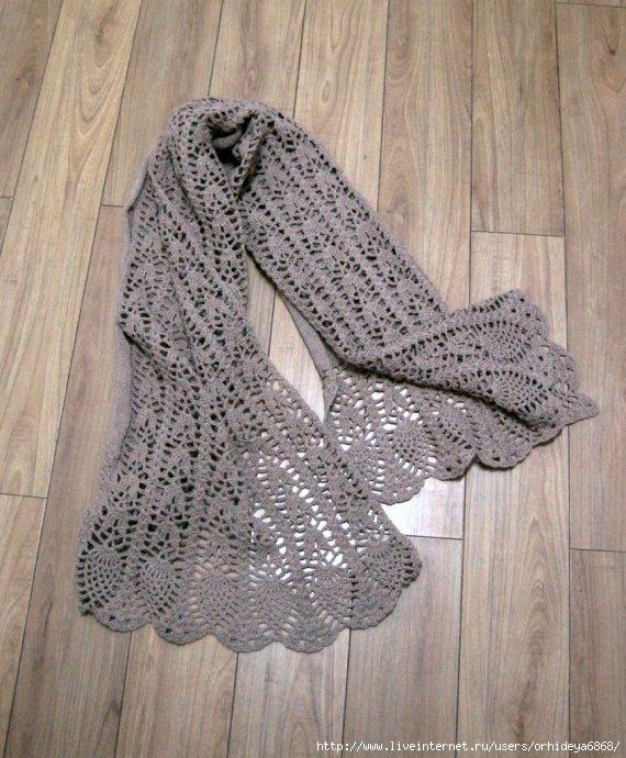 ...22 Мая 2011 г. 14:47 (ссылка). вязание одежды/Шапки, шарфы, палантины.
