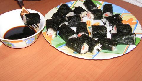 Как приготовить суши и роллы в. Как приготовить суши и роллы в домашних...