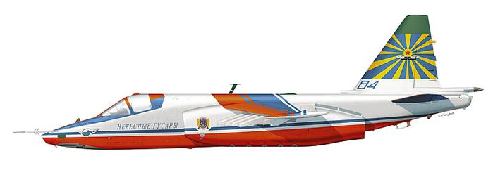 """Су-25 пилотажной группы """""""