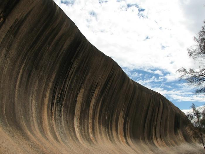 Wave Rock - волна из камня