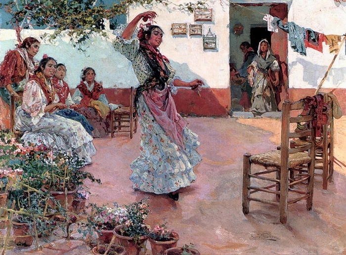 Guerrero Manuel Ruiz The Flamenco Dance (700x516, 376Kb)