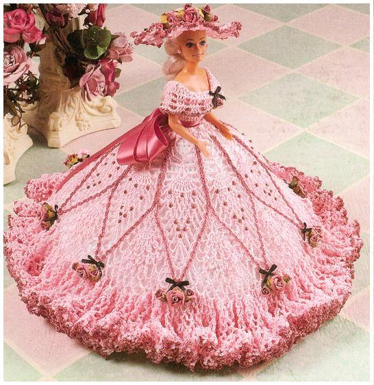 Бальное платье своими руками для куклы