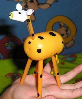 В смысле, где ты был раньше, со своими коротенькими рассказами о... Вот люди из киндер-сюрприза жирафов делать умеют.