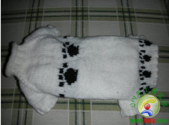 Вязаный свитер для собак.