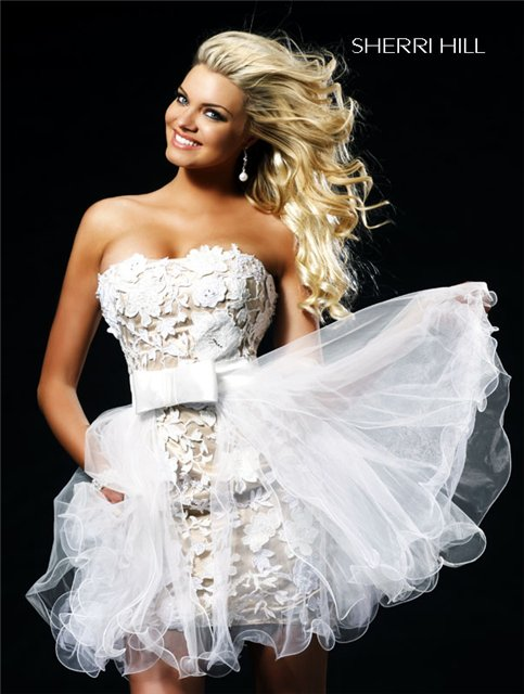 вязаное свадебное платье