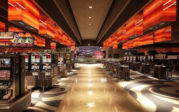 Красивый интерьер казино 34