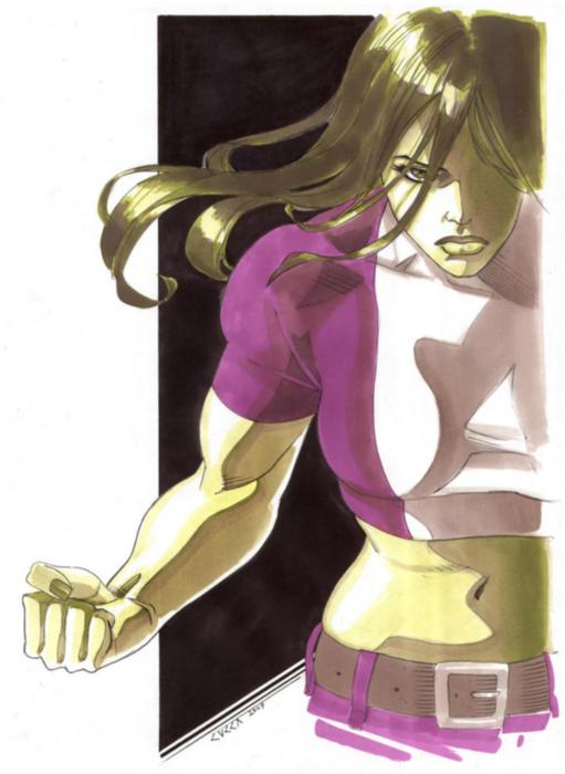 she_hulk_marker_sketch (511x700, 260Kb)