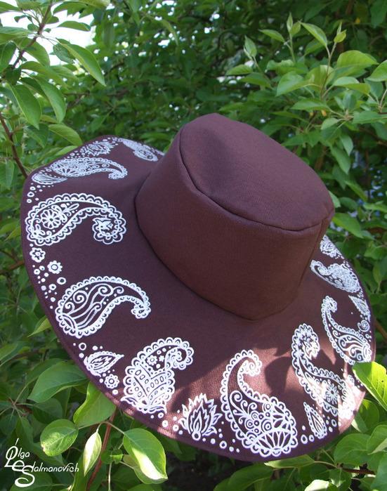 Как сшить шляпу на осень