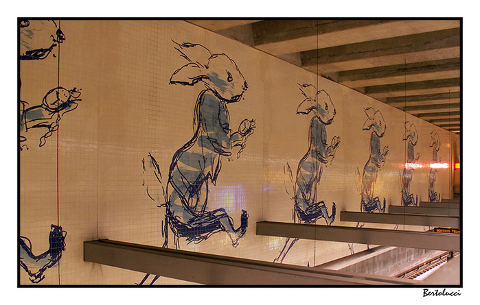 White Rabbit (Subway St. XI) lisbon (700x445, 126Kb)