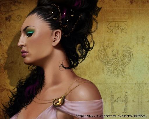 """Марка нитей. египет.  Теги.  Гамма, 60 цветов.  200x150 крестов.  Портал  """"Вышивка крестом """".  Девушка5. нефертити."""