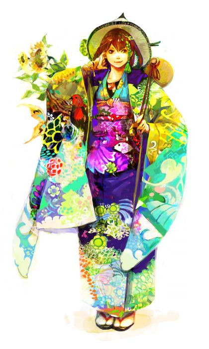 японские картинки аниме: