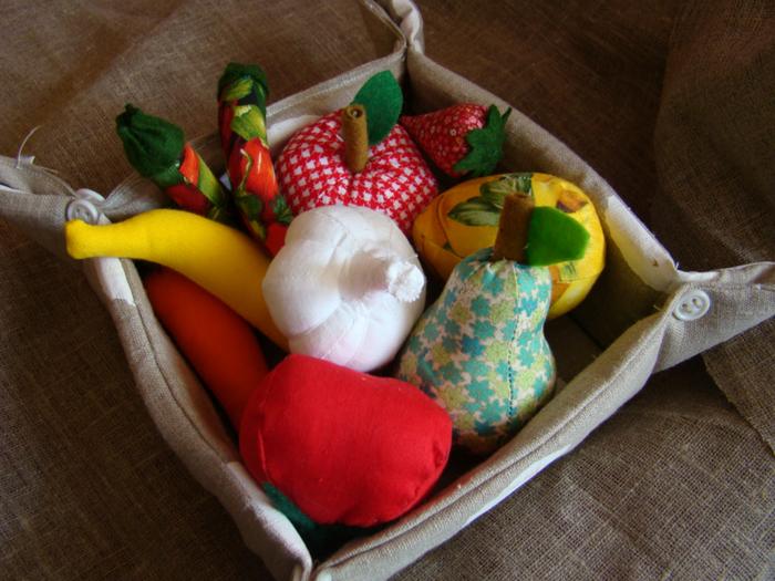 Как сделать овощи игрушки - Игрушечные продукты фрукты, овощи и другие игрушки для