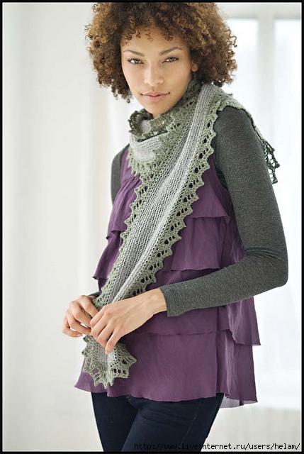 布鲁克林的针织围巾 - maomao - 我随心动