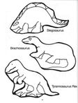 Превью 34 Dinosaur Puppets (525x700, 45Kb)