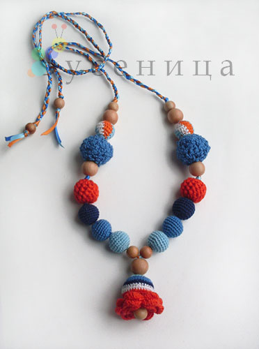 Crafty Jewelry Crochet Bead Make Handmade Crochet Craft