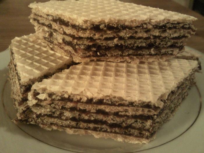Вафельные торты в домашних условиях 442