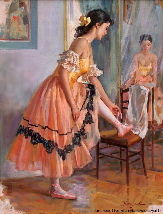 01- Devant le miroir (532x700, 369Kb)