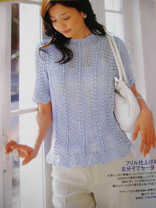 Ondori spring sammer knit 0 (13) (525x700, 70Kb)