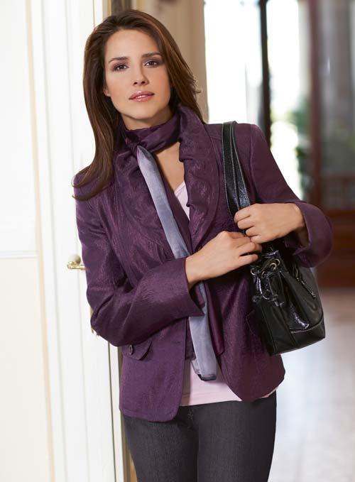 В гардеробе бизнес - леди наступает большая перемена.