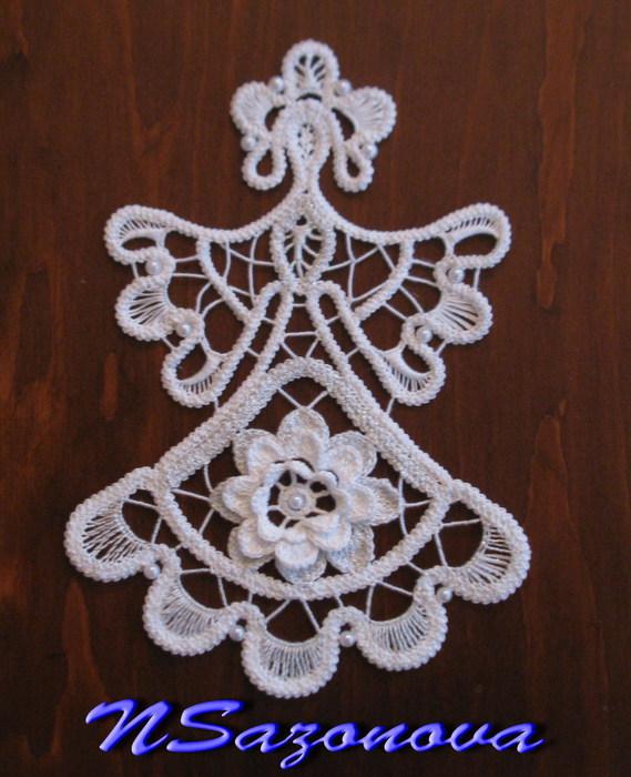 娜塔亚的罗马尼亚花边欣赏:圣诞的幻想 - maomao - 我随心动