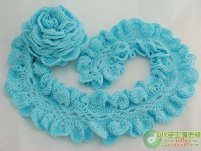 Общее Вязание/Вязание крючком. вязание крючком. шарф крючком. шарф с рюшей. вязание.  Это цитата сообщения.