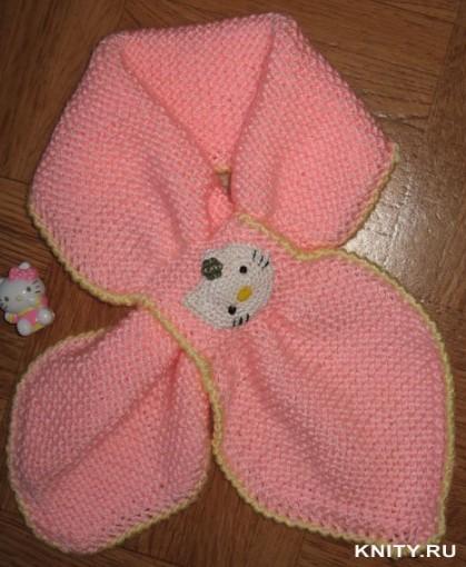 Красивый шарфик для девочки с удобной застежкой-связан спицами/4683827_20120126_000511 (419x510, 63Kb)
